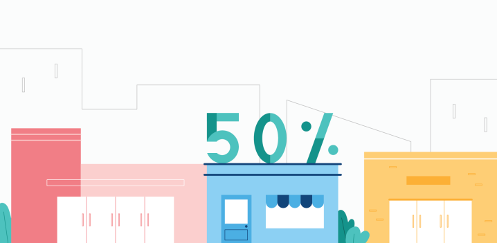 50% of Local customers were first-time visitors & other coolstats